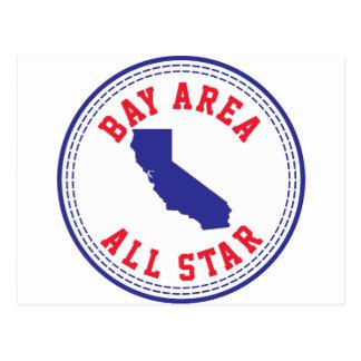 Bay Area All Star Postcard