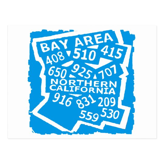 Bay Area -- Apprell Postcard