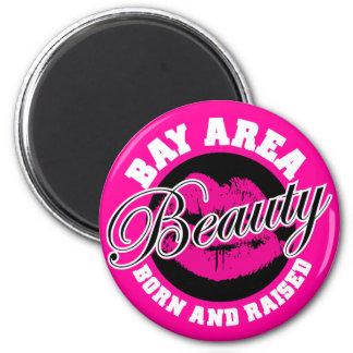 Bay Area Beauty - Pink Fridge Magnets
