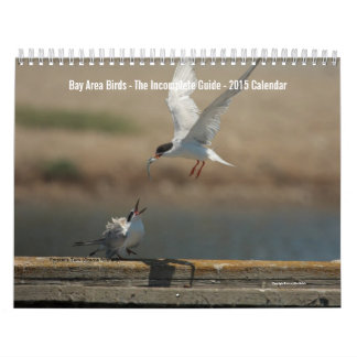 Bay Area Birds 2017 Photo Calendar