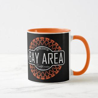 Bay Area - Black & Orange Mug