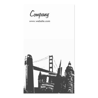 Bay Area Double-Sided Standard Business Cards (Pack Of 100)