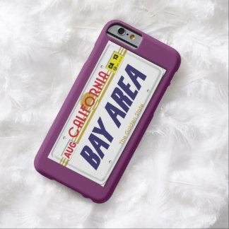 Bay Area Cali Plates Barely There iPhone 6 Case