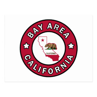 Bay Area California Postcard