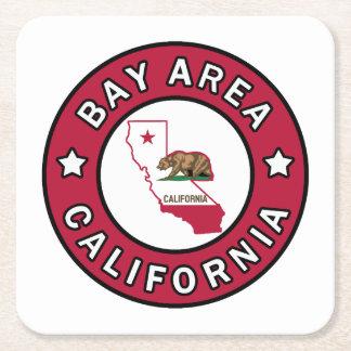 Bay Area California Square Paper Coaster
