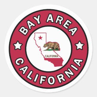 Bay Area California sticker