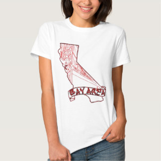 Bay Area California T-shirts