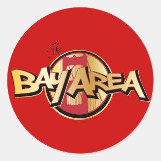 Bay Area Classic Round Sticker