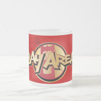 Bay Area Frosted Glass Coffee Mug