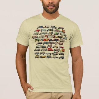 Bay Area Graffiti Trucks American Apparel Creme T-Shirt