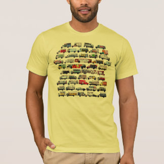 Bay Area Graffiti Trucks Moving Canvases -  Yellow T-Shirt