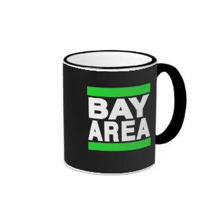Bay Area Green Ringer Mug