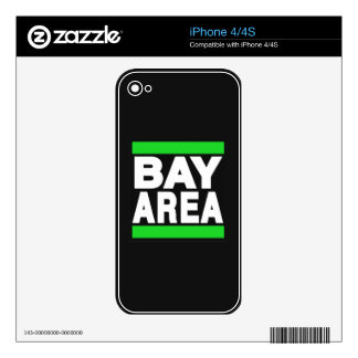 Bay Area Green Skin For The iPhone 4