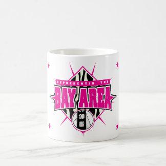Bay Area Mug Pink & Black