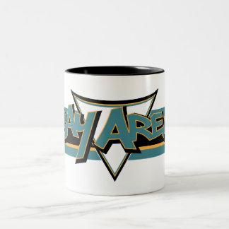 Bay Area Mug Teal & Black