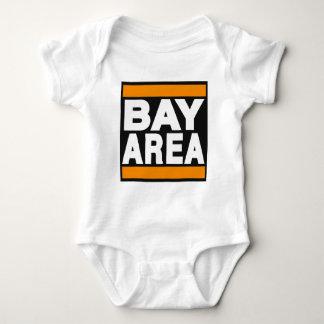 Bay Area Orange Baby Bodysuit