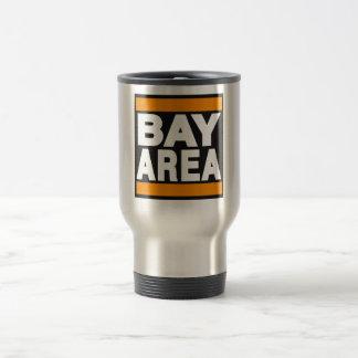 Bay Area Orange 15 Oz Stainless Steel Travel Mug