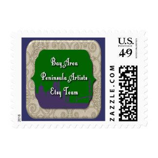 Bay Area Peninsula Artists Team Postage