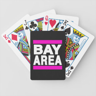 Bay Area Pink Bicycle Playing Cards