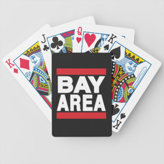 Bay Area Red Bicycle Playing Cards