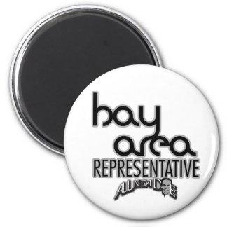 Bay Area Representative 2 Inch Round Magnet