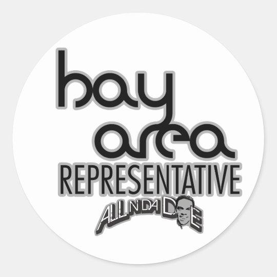 Bay Area Representative Classic Round Sticker