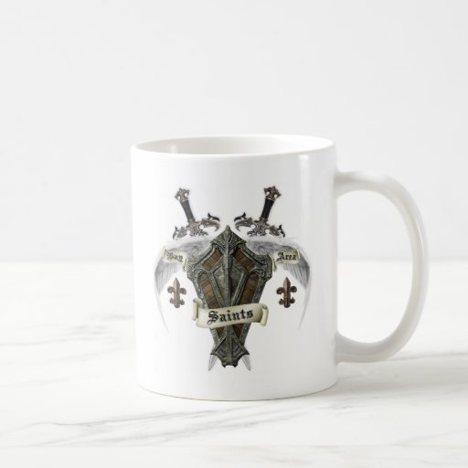 Bay Area Saints Gear Classic White Coffee Mug