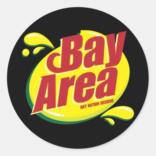 Bay Area SD Classic Round Sticker