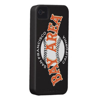 Bay Area SF Black iPhone 4/4S iPhone 4 Case