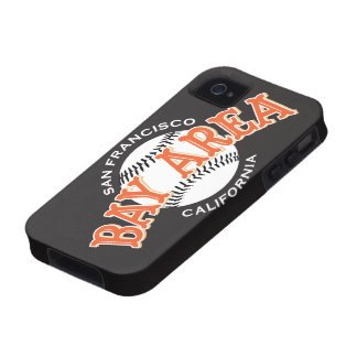 Bay Area SF Black iPhone 4/4S iPhone 4 Cases