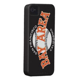 Bay Area SF Black iPhone 4/4S iPhone 4 Case-Mate Case