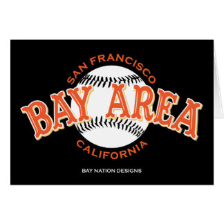 Bay Area SF Greeting Card