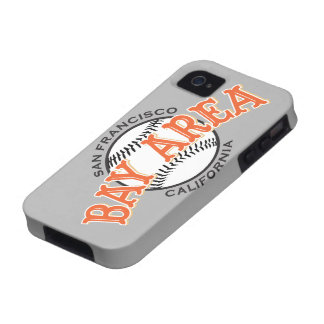 Bay Area SF Grey iPhone 4/4S Case-Mate iPhone 4 Cover