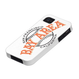 Bay Area SF White iPhone 4/4S Vibe iPhone 4 Cover