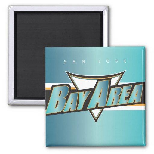 Bay Area SJ Magnet Refrigerator Magnet