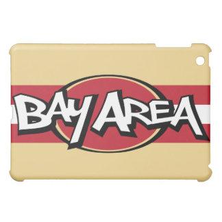 Bay Area Throwback Red & Gold iPad iPad Mini Cover