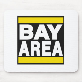 Bay Area Yellow Mouse Pad