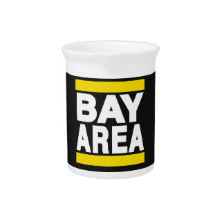 Bay Area Yellow Beverage Pitcher