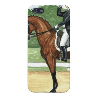 Bay at Halt, Dressage Cover For iPhone 5/5S