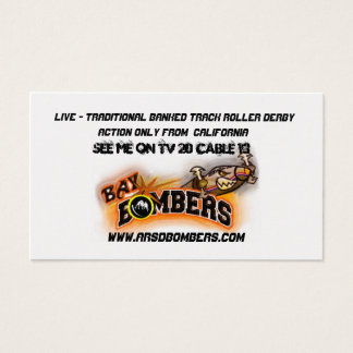 Bay Bombers Skater  Business Card