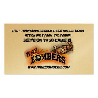 Bay Bombers Skater  Business Card