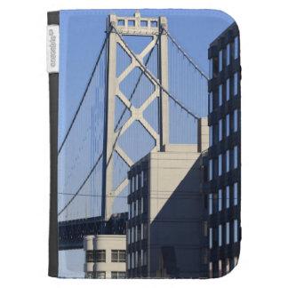 Bay Bridge and Buildings, San Francisco Kindle Cases