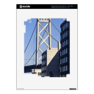 Bay Bridge and Buildings, San Francisco Decals For iPad 3