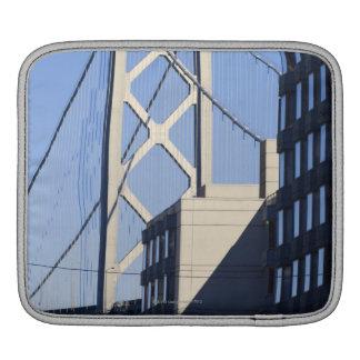 Bay Bridge and Buildings, San Francisco iPad Sleeve