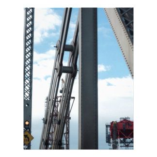 Bay Bridge and Construction Customized Letterhead
