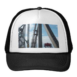 Bay Bridge and Construction Trucker Hat
