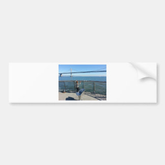 Bay Bridge Bumper Sticker