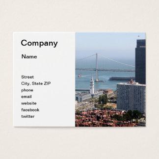 Bay Bridge Business Card