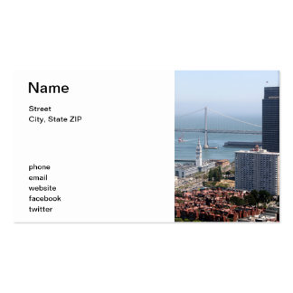 Bay Bridge Double-Sided Standard Business Cards (Pack Of 100)