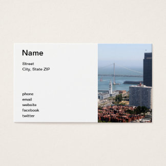 Bay Bridge Business Card